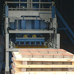 вибратор при производстве сухого бетона